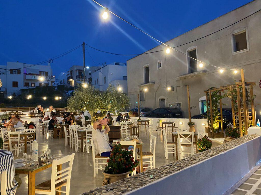 Gemütliche Abende in den Tavernen Griechenlands.