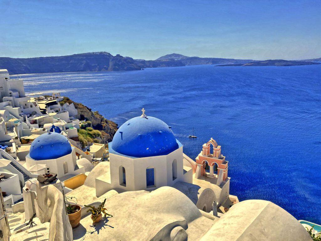 Griechenland in Blau und Weiß