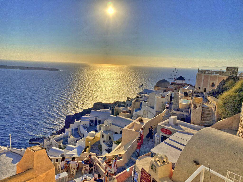 Sonnenuntergang Inselhüpfen